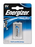 Energizer Ultimate Lithium 9V LA522 (1ks)