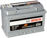 Autobaterie Bosch S5, 12V, 74Ah, 750A, S5 007