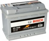 Autobaterie Bosch S5, 12V, 77Ah, 780A, S5 008
