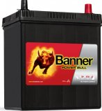 Autobaterie Banner Power Bull 12V, 40Ah, 300A, P40 26