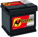 Autobaterie Banner Power Bull 12V, 44Ah, 420A, P44 09
