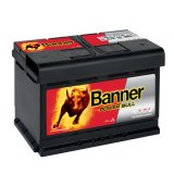 Autobaterie Banner Power Bull 12V, 72Ah, 660A, P72 09
