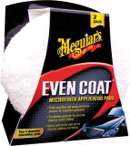 Meguiar's Even Coat Microfiber Applicator Pads, 2ks