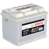 Autobaterie Bosch S5, 12V, 63Ah, 610A, 0 092 S50 060