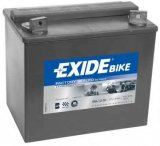 Motobaterie Exide Bike Factory Sealed 12V, 30Ah, GEL12-30